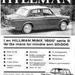 Hillman annonse