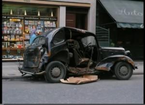 Bilvrakbehandling i 1965