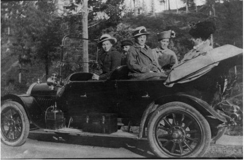 Saltdals første bil