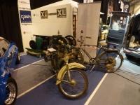 Victoria moped 1958 og sykkel med Cyclemaster hjelpemotor