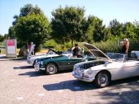 Bilene får en nødvendig pause i varmen