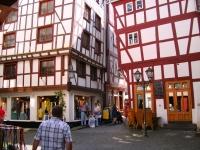 Gamle hus i Bernkastel