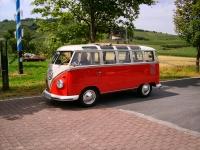 Flott VW Samba buss